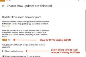 Microsoft accapare la bande passante utilisateur pour les mises à jour Windows 10