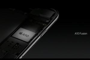 L'iPhone 7 accueille une puce A10 Fusion taill�e pour la performance