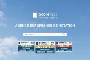 D�couvrir les notations des prestataires IT avec ScoreFact
