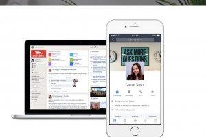 Dans l'entreprise, Facebook veut rattraper Slack avec Workplace