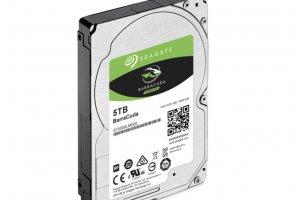 Seagate sort un disque dur 2,5 pouces de 5 To