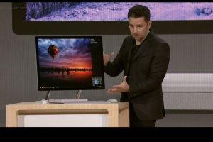 Microsoft dévoile Surface Studio, PC tactile de 28 pouces