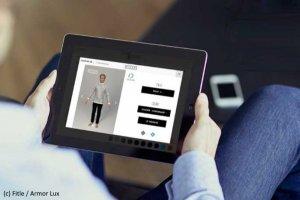 Avec son app Fitle, Armor Lux pousse l'essayage virtuel