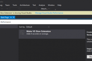 Visual Studio 15 rénove la gestion des extensions