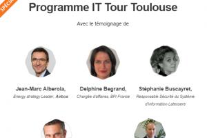 Airbus et Latecoere présents à l'IT Tour Toulouse