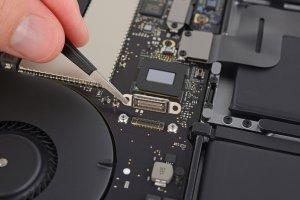 Un port réservé pour récupérer les données des MacBook HS