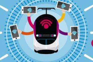 La SNCF fait monter le WiFi gratuit à bord de ses TGV