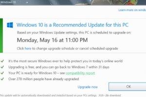 Mise à jour forcée de Windows 10 : Microsoft fait son mea culpa