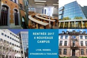 L'Epita ouvre ses classes prépa à Lyon, Rennes, Strasbourg et Toulouse.