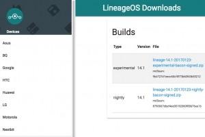 LineageOS prend le relais de Cyanogen sur 80 terminaux