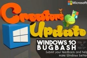 Windows 10 Creators Update : La chasse aux bugs est ouverte
