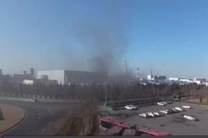 Une usine de batteries Samsung prend feu