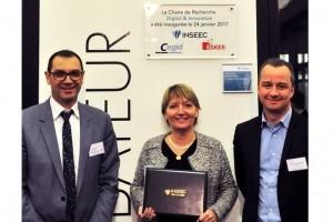 L'Inseec crée une chaire sur la transformation numérique avec Cegid et Esker