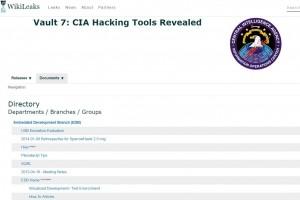 Wikileaks met en ligne 8 700 documents de la CIA