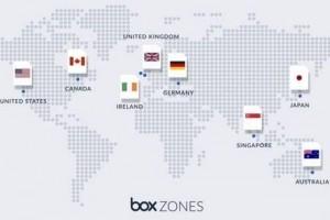Box étend ses zones de disponibilités en Europe