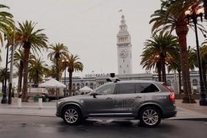 Uber autorisé à tester ses voitures autonomes à San Francisco