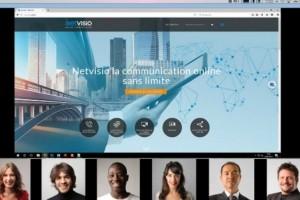 Le français Netvisio s'attaque au marché de la vidéoconférence web