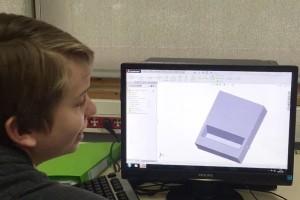 Des collégiens initiés à la conception et l'impression 3D