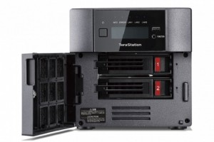 10 GbE et SSD pour le TerraStation 5210 DF de Buffalo