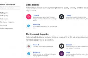 GitHub ouvre un marketplace d'outils pour les codeurs