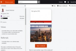 Microsoft arrête son service de stockage de fichiers docs.com