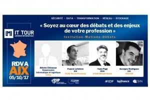 IT Tour Aix : Les DSI du SDIS 84, CCAS Aix et du Cereq au rendez-vous