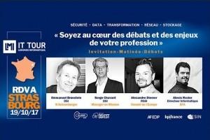 IT Tour Strasbourg : Le DSI de N Schlumberger et le RSSI du Conseil de l'Europe interviendront