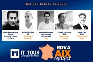IT Tour : Alain Bensoussan interviendra sur GDPR