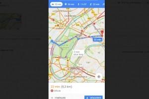 Google Maps aide les conducteurs à trouver un parking