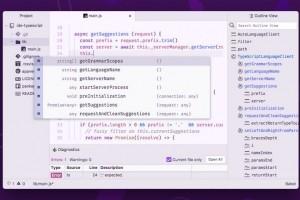 GitHub transforme son éditeur de texte Atom en IDE