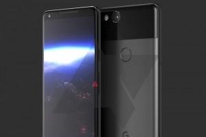 Le Google Pixel 2 XL fuite sur le web