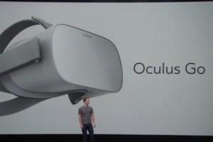 Facebook lance l'Oculus Go, un casque VR à 200$
