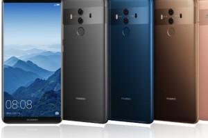 Huawei dévoile les Mate 10 et 10 Pro
