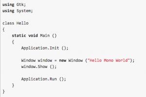Le runtime Mono .Net de Microsoft réintègre son interpréteur