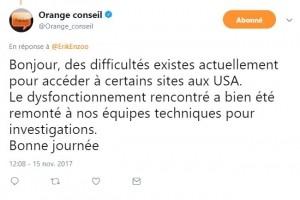 Orange connait de nouveau des problèmes de transit avec Level 3