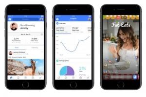Facebook lance une app de création de vidéos