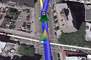Google Maps + GPS = Google Navigator