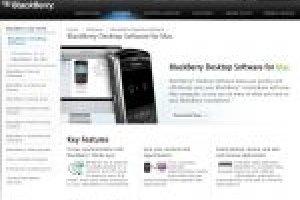 BlackBerry Desktop Manager enfin dispo pour MacOS X