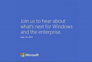 Une pr�version de Windows 9 pr�sent�e fin septembre ?