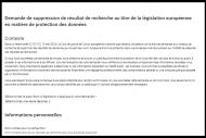 Google rejette la demande de la CNIL d'�tendre le droit � l'oubli