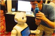 Au Japon, le robot Pepper utilis� pour le service au client