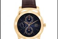LG lance sa montre connect�e en or 23 carats