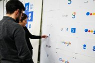 Un logo l�g�rement modifi� chez Google