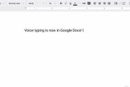 Google ajoute la dict�e et la recherche int�gr�e � sa suite bureautique