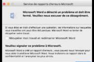Microsoft peine � corriger le plantage d'Office 2016 sur El Capitan
