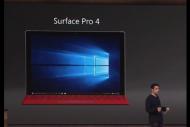 Microsoft d�voile la Surface Pro 4, disponible le 26 octobre