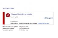 Mise � jour Windows 10 : Les probl�mes s'accumulent