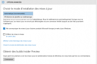 Windows 10 automatiquement pouss� et Build 14257 lanc�e