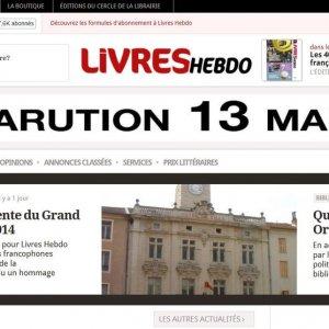Edité par la PME Electre, le site www.livreshebdo.fr contient plus de 250 000 articles rédactionnels