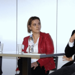 Stéphanie Buscayret, responsable sécurité du système d'information pour le groupe d'aéronautique Latécoère lors de l'IT Tour 2016.